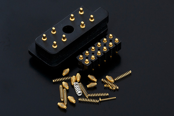 Springs for electronic connectors1