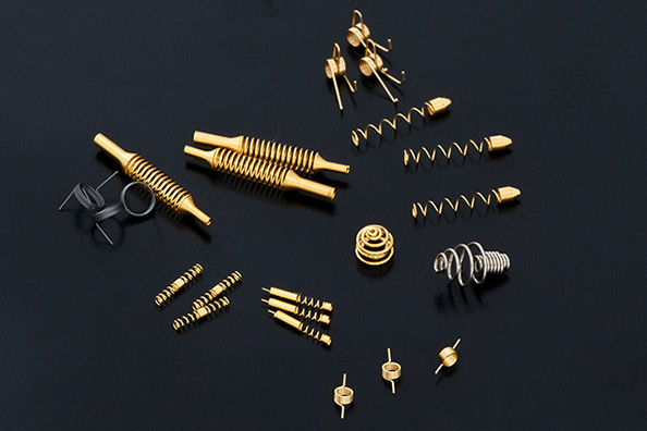 Specially shaped springs1