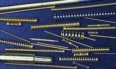 Springs for contact probes